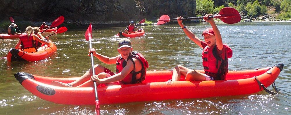Wilderness Ascent 16 - Kayak Group