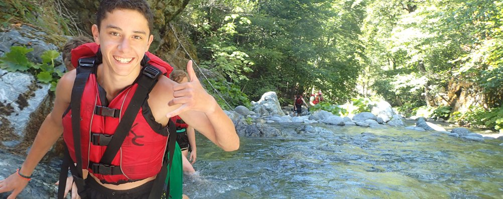 Wilderness Ascent 16 - Creek Walking
