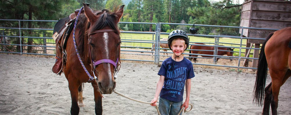 Cowboy 16 - Kid with Horse