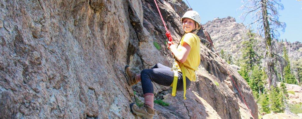 Wilderness Ascent 16 - Rock Climbing