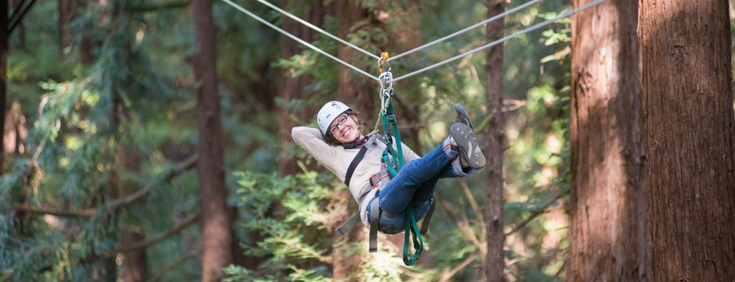 FWR 15 - Woman on Canopy Tour