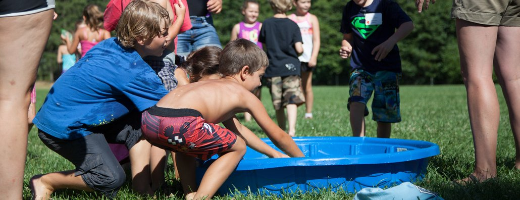 KC Day Camp 18 - Plastic Pool