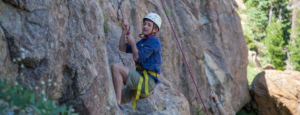 Wilderness Ascent 18 - Rock Climbing