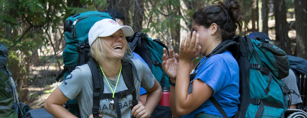 Wilderness Ascent 18 - Laughing