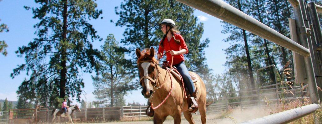 Ranch 17 - teenage horse rider