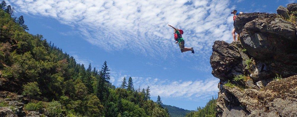 Wilderness Ascent 16 - Cliff Jump