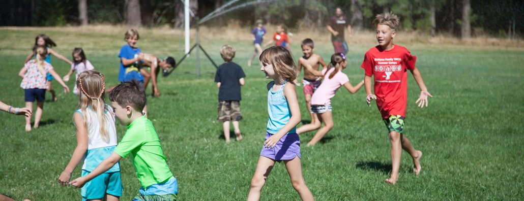 KC Day Camp 18 - Field Game Kids