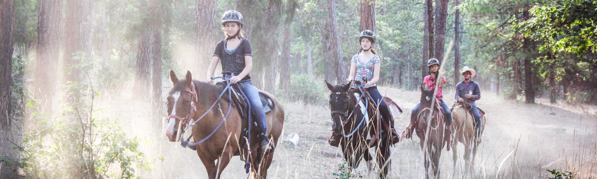 Kidder Creek Horseback Riding