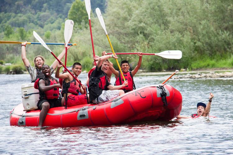 Kidder Creek Rafting