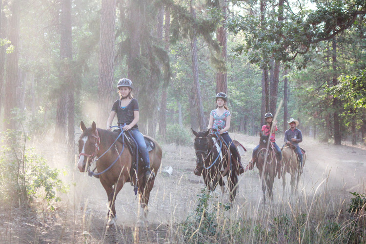 Kidder Creek Horseback Riding