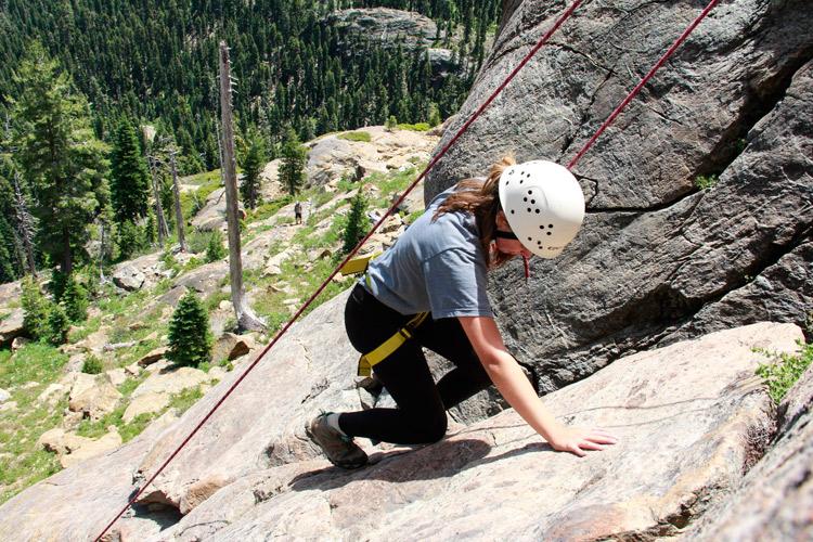 Kidder Creek Rock Climbing