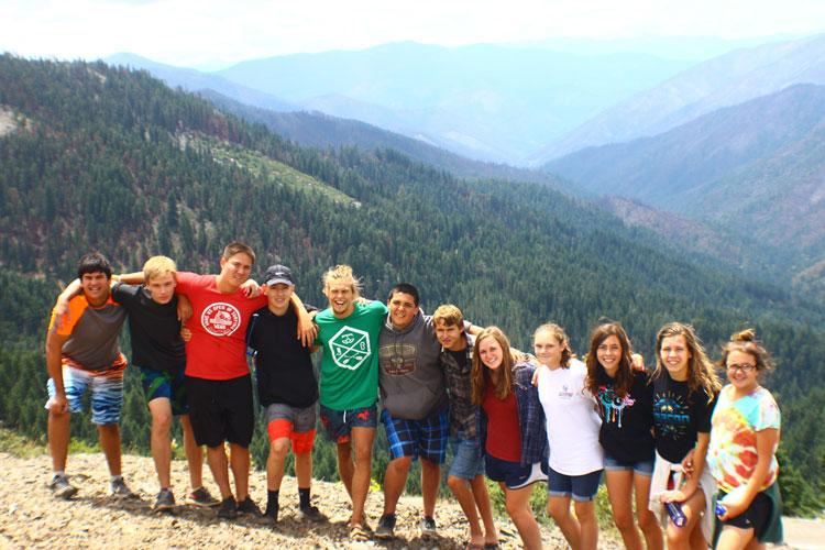 Kidder Creek Group Photo on Mountain