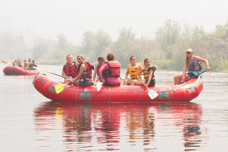 Kidder Creek White Water Rafting