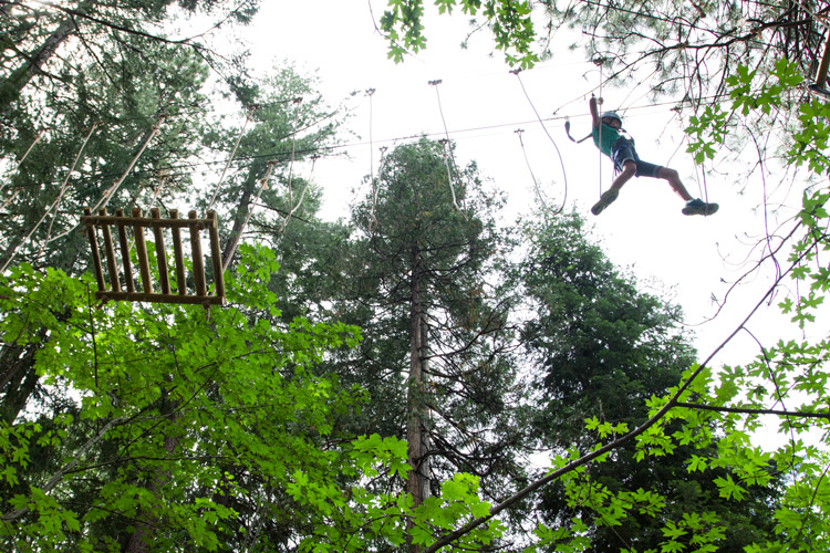 Kidder Creek Ropes Course