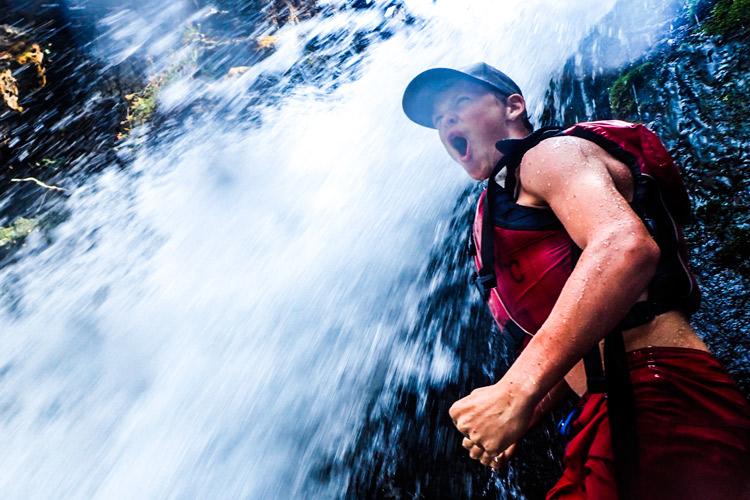 Kidder Creek Waterfall Yell