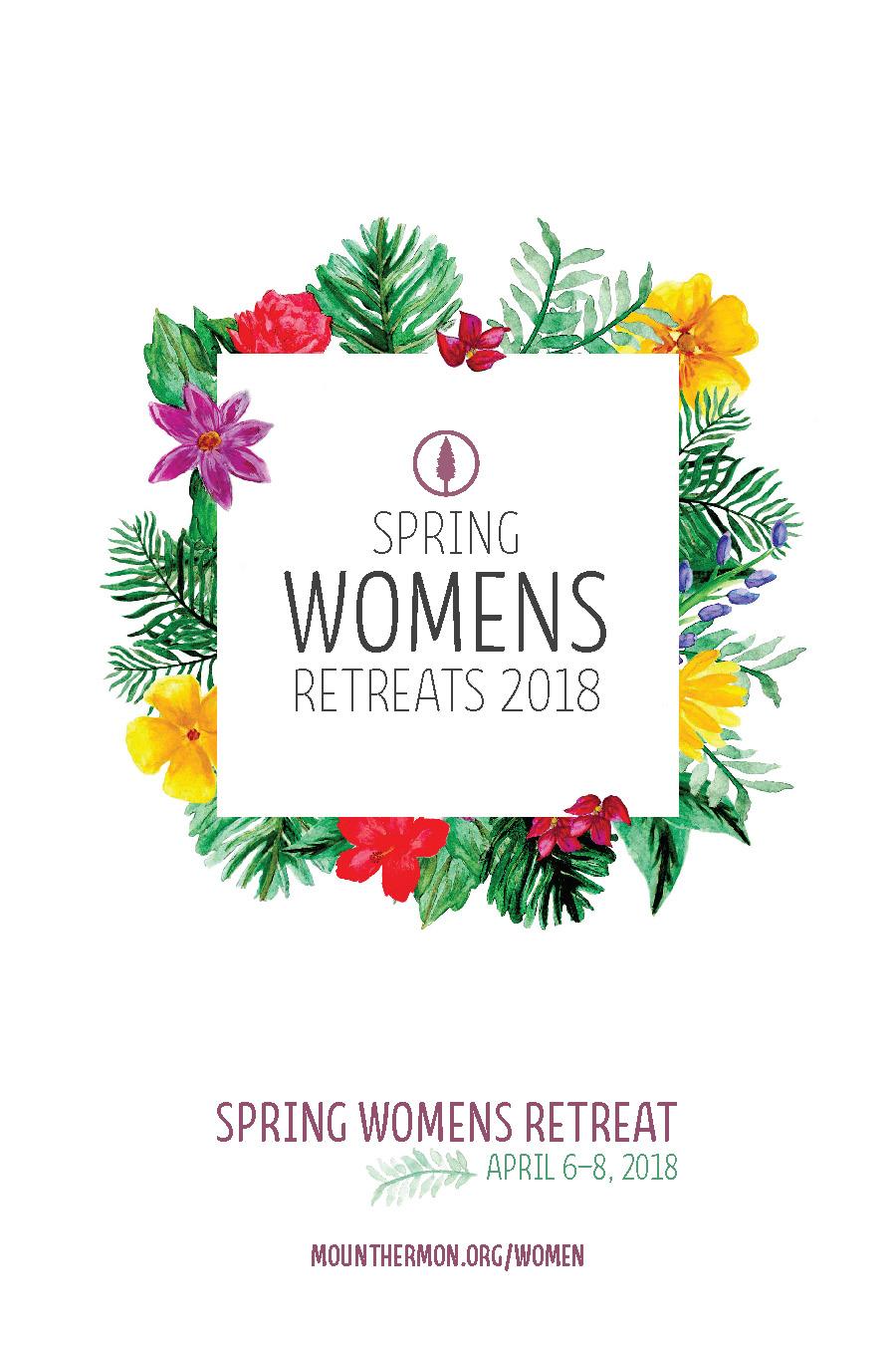 Spring 2018 Women's Retreat Flyer