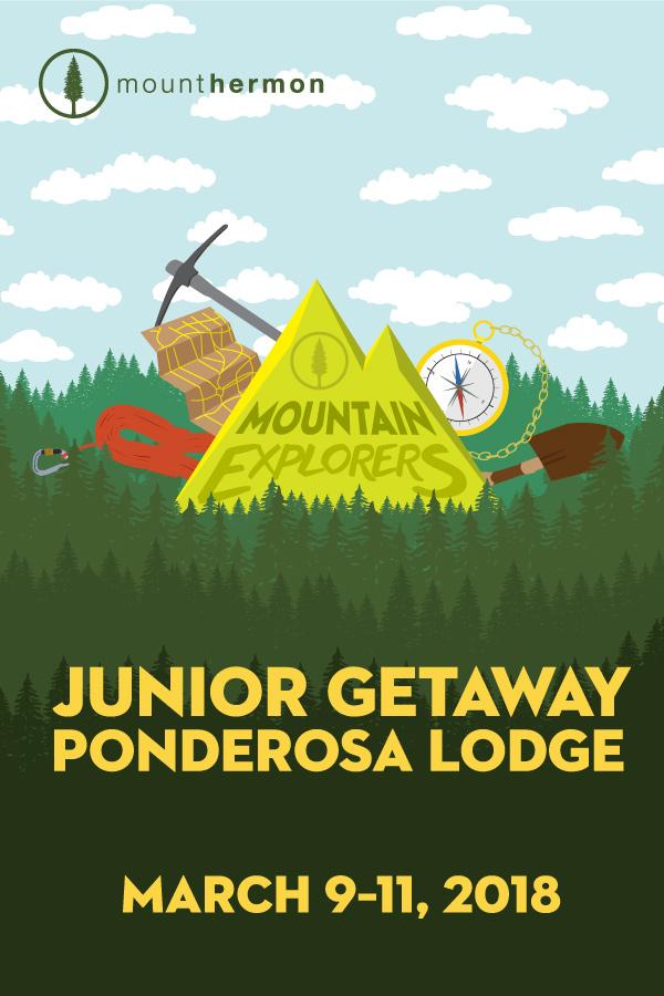 Junior Getaway Poster (March 9-11)