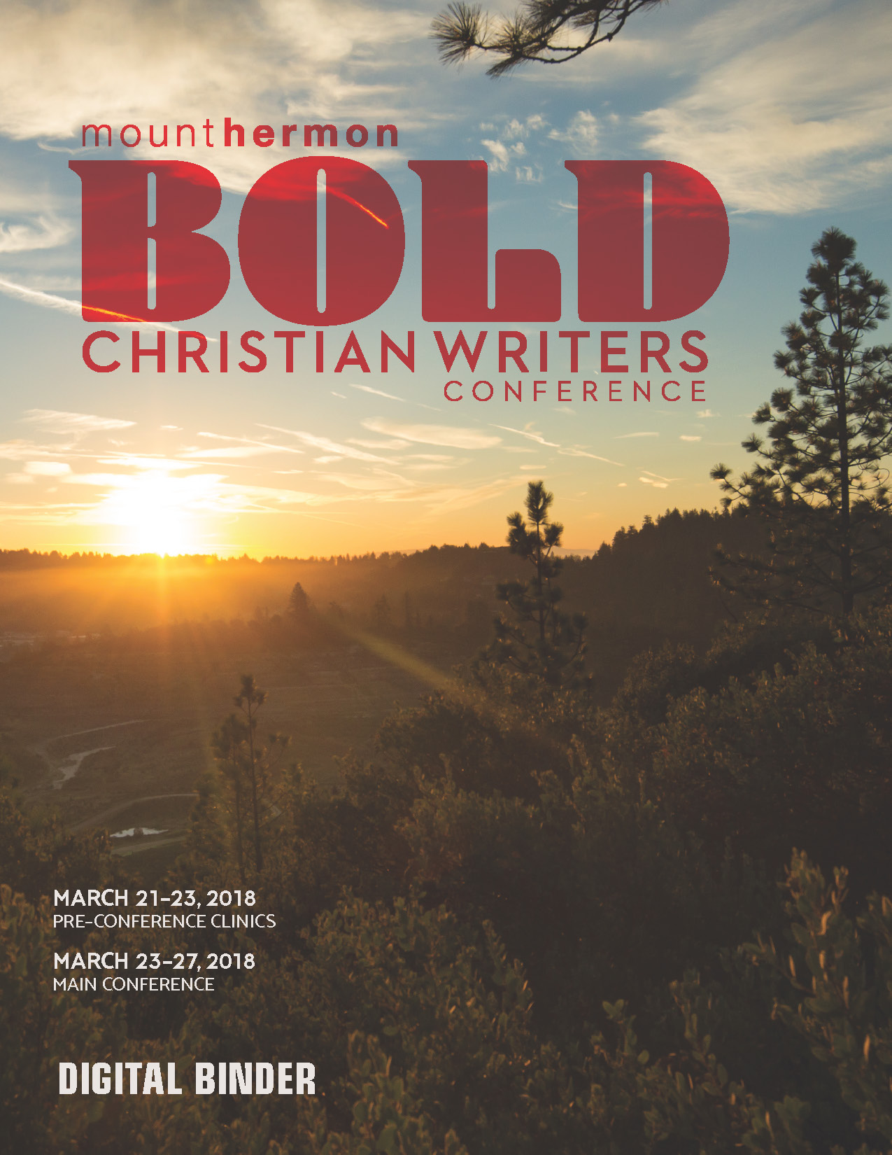 2018 Christian Writers Conference Online Binder