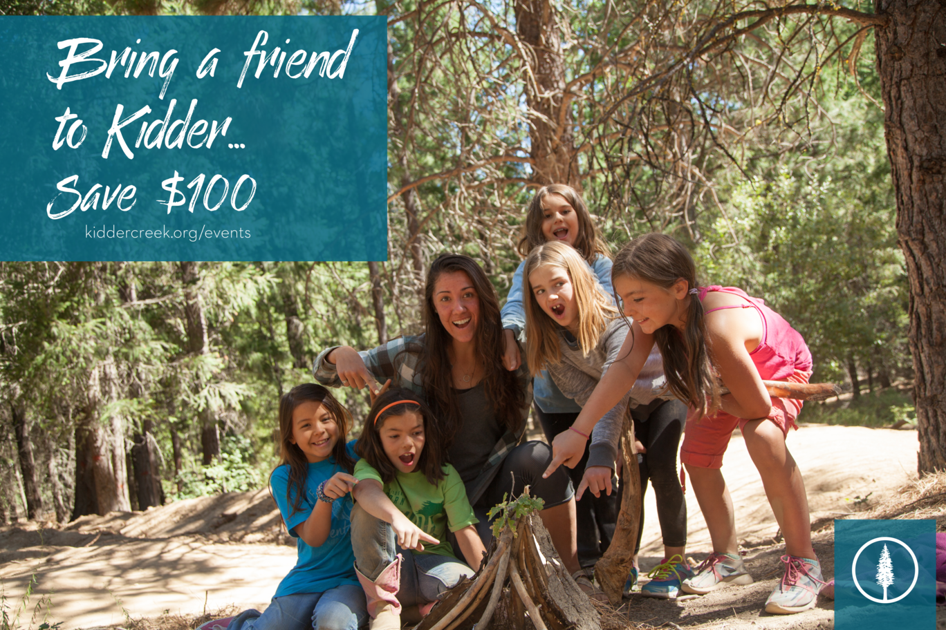 Bring a Friend to Kidder Creek and Save!