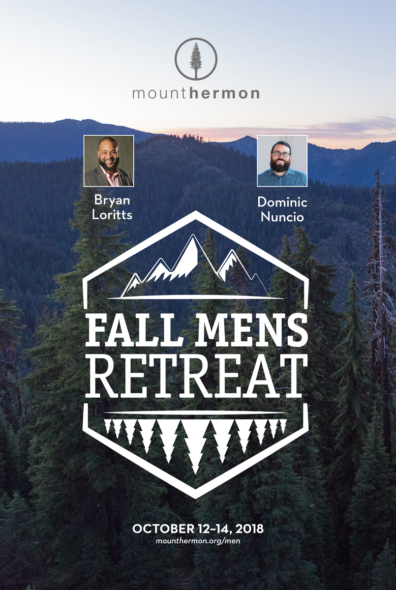 Fall Men's Retreat 2018 Poster