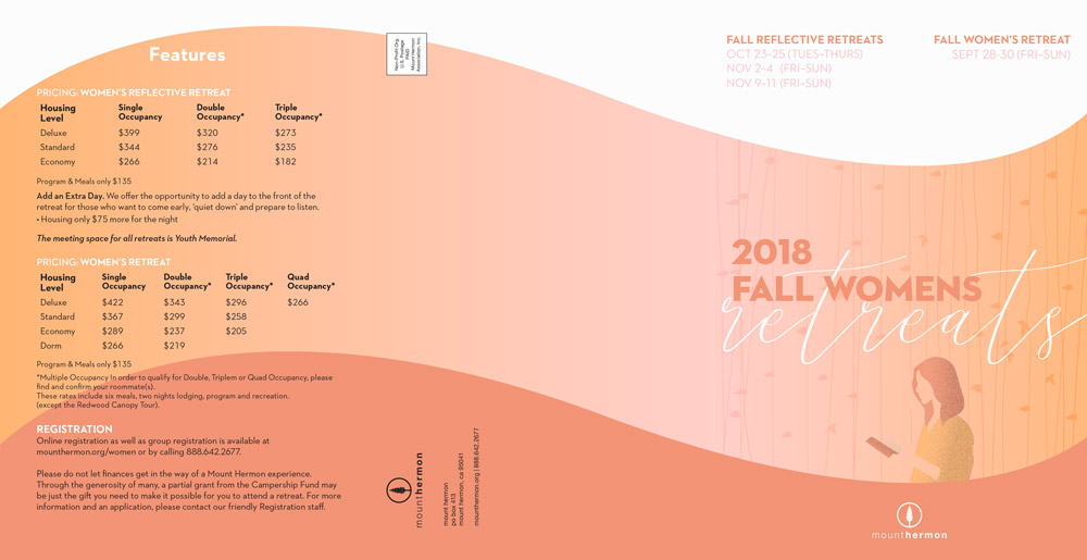 Fall Womens Brochure