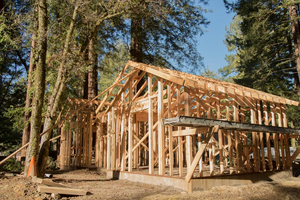 cabin framing