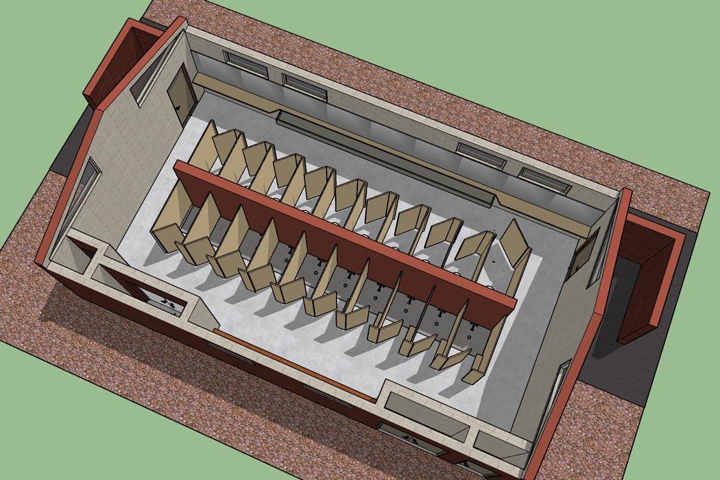 Bathhouse rendering