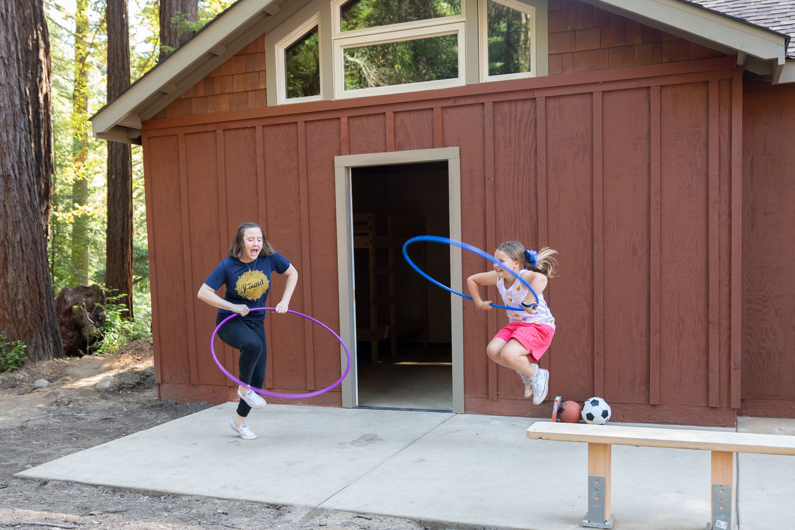 Redwood Camp Fun