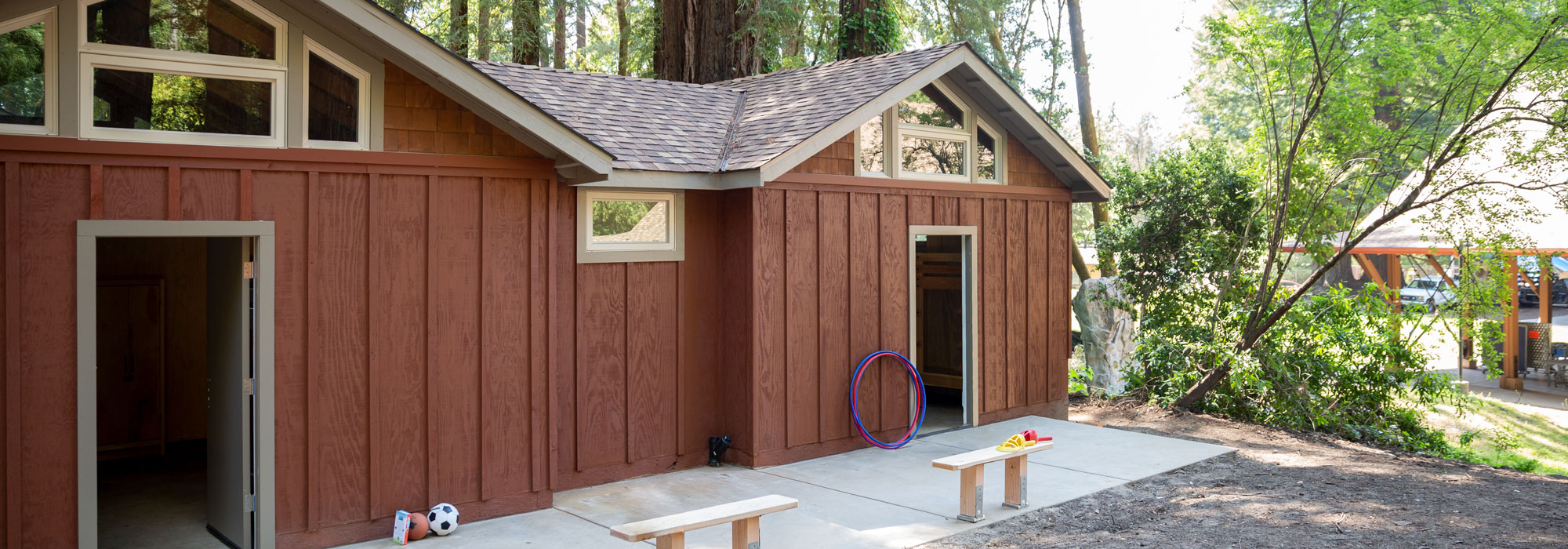 New Redwood Cabin