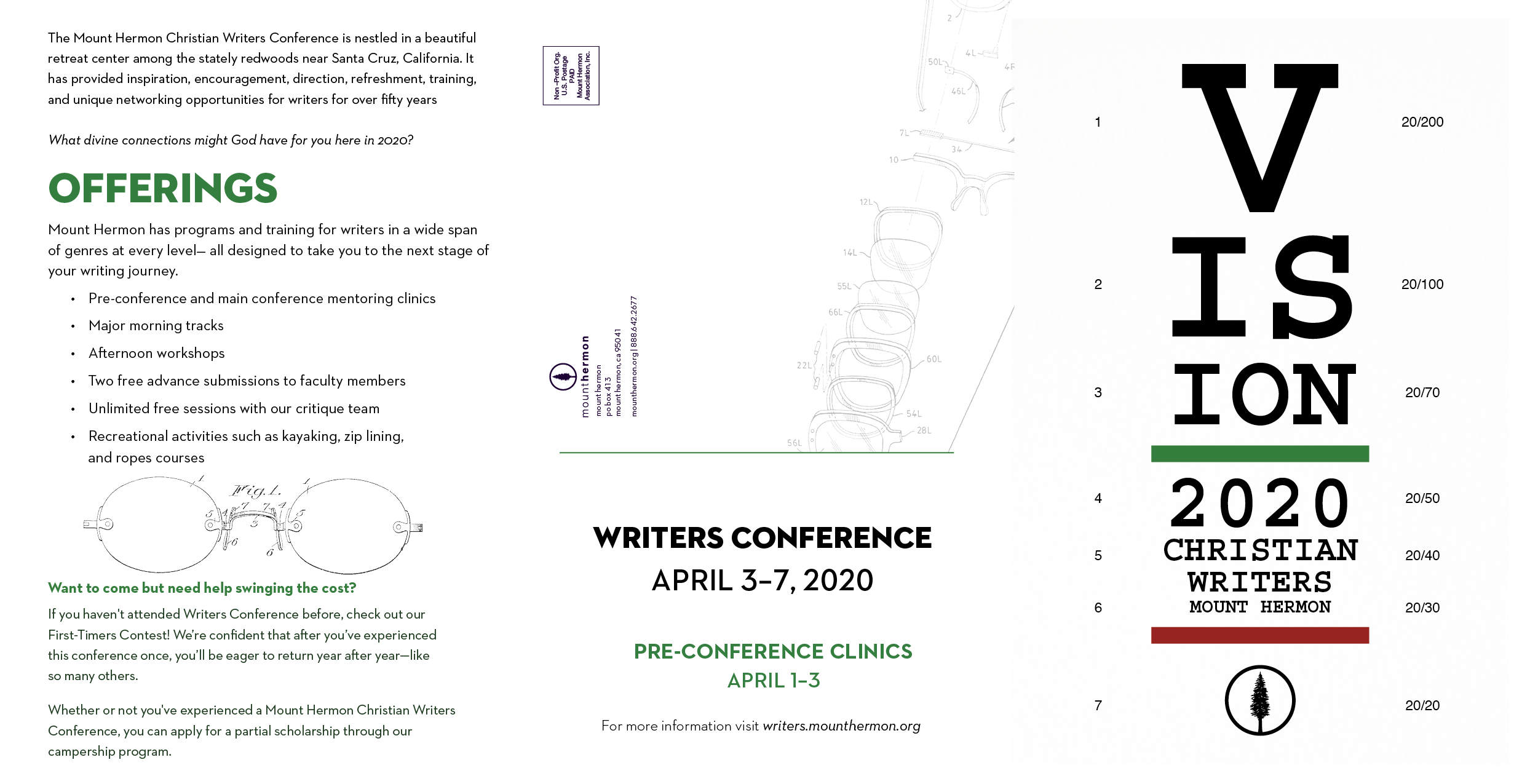 Writers Trifold Brochure
